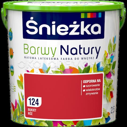 Краска интерьерная латексная Sniezka Barwy Natury 124