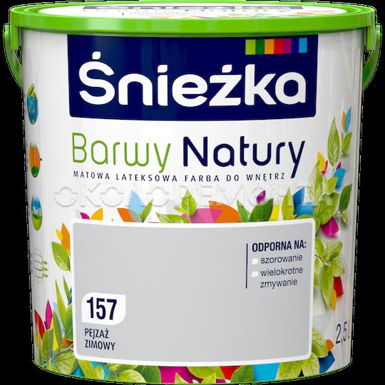 Краска интерьерная латексная Sniezka Barwy Natury
